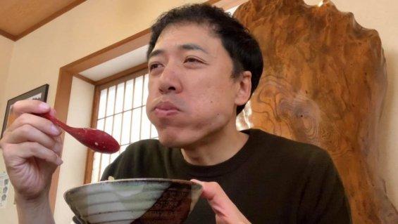 松本市 松花 かき揚げ丼