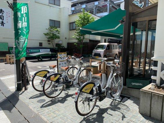 松本市シェアサイクル
