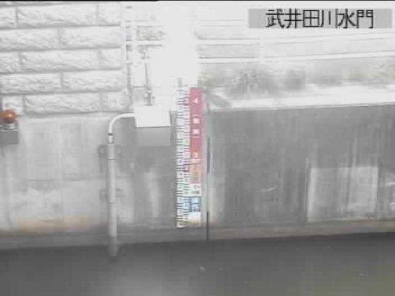 武井田川水門