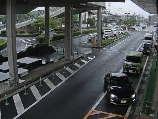 軽井沢駅付近