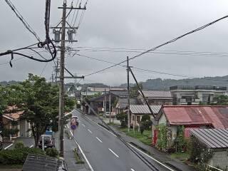 子育て支援センター(るるぱる)付近 中軽井沢方面