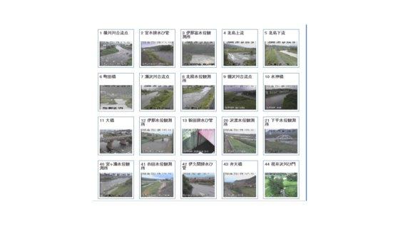 天竜川ライブカメラ一覧