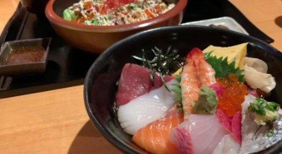王滝の海鮮丼