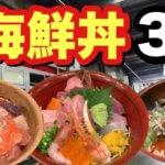 【松本市】海鮮丼3軒(おおたき、旬庵、吉志久)