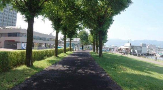 諏訪湖レンタサイクル