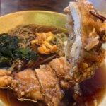 【長野県塩尻駅】の蕎麦屋さんで「山賊そば」を食す