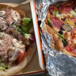 【テイクアウト可】石窯ピザがっつり!超やわらか鶏の骨付き肉にかぶりつく!「イタリアンキッチン おりべ」(松本市埋橋)