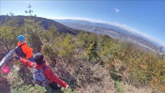 アルプス展望台からの景色